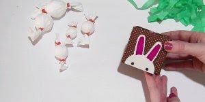 Artesanato de caixinha decorada com coelhinho para colocar bombons!!!