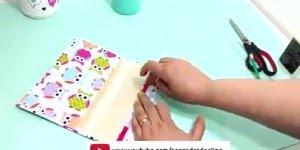 Artesanato de estojo feito com caixa de bombom, olha só que legal!!!