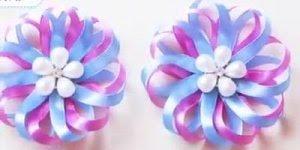 Artesanato de flor feita com fita de cetim, vale a pena conferir!!!