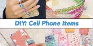 Artesanatos para capinhas de celulares, são dicas incríveis!