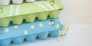 Artesanatos para fazer com caixinhas de ovos, uma mais linda que a outra!