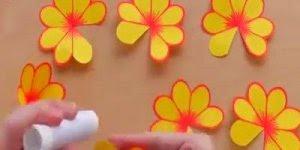 Cartão com flor 3D dentro, lindo artesanato para dar a quem você ama!