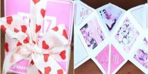 Cartão para o dia dos namorados para fazer você mesma!