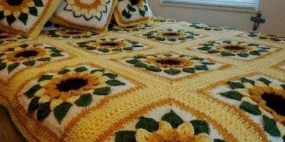 Colchas de crochê para inspirar você, vale a pena conferir cada uma delas!!!