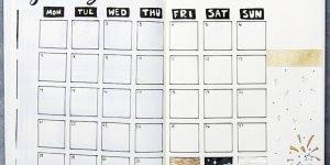 Como fazer a sua agenda 2018, toda personalizada e com seu estilo!