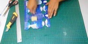Como fazer Caixa Bala utilizando caixas de leites vazias para presentear!