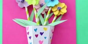 Como fazer quadro de flores em 3D, um artesanato para o dia das mães!