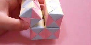 Como fazer um quadrado mágico com dobraduras e colagens!