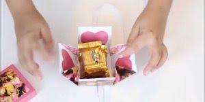 Como fazer uma caixinha para colocar lembrancinha, perfeita!
