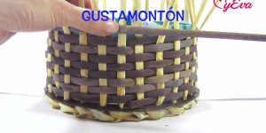 Como fazer uma cestinha linda totalmente artesanal, confira!