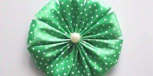 Como fazer uma flor de cetim, um artesanato lindo, confira!