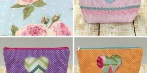Como fazer uma necessaire de artesanato, uma opção de presente para sua mãe!
