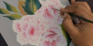 Desenho de flores, perfeito para fazer em tecidos, confira!