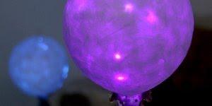 Enfeites de balões para enfeitar o quarto, o resultado é muito fofo!