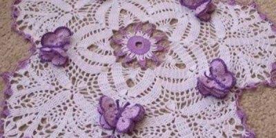 Inspirações maravilhosas de caminho de mesa de crochê para te inspirar!!!