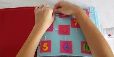 Livro interativo para criança feito de artesanato, que ideia legal!