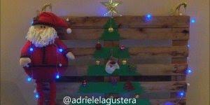 O natal está chegando, já pensou como vai fazer sua decoração? Veja esta ideia!