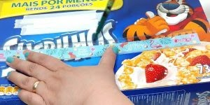 Organizador escolar feito com caixa de cereal, olha só que fácil de fazer!!!