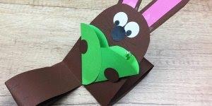 Pascoa chegando é olha só que lindo coelhinho para as crianças fazerem!!!