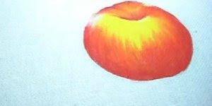 Passo a passo de pintura em tecido, você vai aprender a fazer uma maçã!