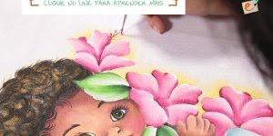 Pinturas em tecidos, aprenda a fazer este lindo trabalho!!!