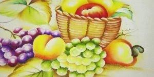 Quer saber como aprender a pintar flores e frutas em tecidos? Veja a dica!