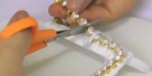 Transformando uma chinela Havaiana simples em um artigo de luxo!