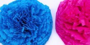 Tutorial de linda florzinha feita com guardanapo colorido!!!