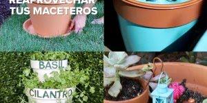 Vídeo com artesanato com vasos de plantas, você pode usa-los de várias formas!!!