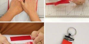 Video de artesanato que ensina a fazer um chaveiro, muito legal o resultado!
