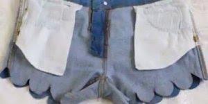 Vídeo de como customizar aquelas calças jeans que você não usa mais!!!