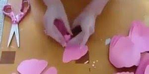 Vídeo de linda flor para decorar suas festas , vale a pena conferir!!!