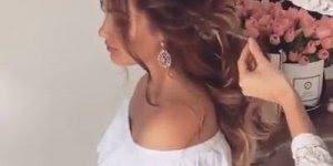 Confira este vídeo de penteado lindíssimo! Veja só que cabelo mais lindo!!!