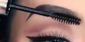 Correção de sobrancelhas com lápis, veja como fica perfeita!!!