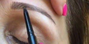 Correção de sobrancelhas maravilhosa! Olha só como fica natural!!!