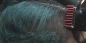Corte de cabelo masculino e colorido, olha só que show de cabelo!!!