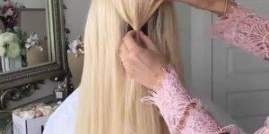 Dois penteados para cabelos longos - Para compartilhar no Facebook!