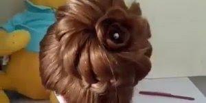 Esse penteado é ideal para as noivinhas de plantão, confira!
