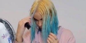 Esse tutorial de cabelos coloridos é especial para as fãs de cabelos diferentes!