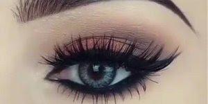 Esse tutorial de maquiagem e espetacular! Veja só que olho lindo!!!