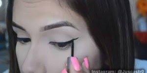 Esse tutorial é muito legal para quem tem dificuldades em delinear os olhos!!!