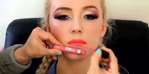 Inspiração de contorno para o rosto com maquiagem, vale a pena conferir!!!