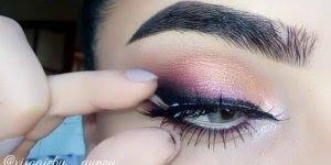 Inspiração de olho com delineado duplo, veja como é fácil de fazer!!!