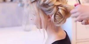 Inspiração de penteado lindíssimo para casamento, formatura, festa, confira!!!