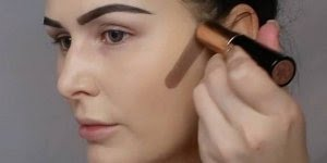 Inspiração de preparação de pele com contorno, simplesmente perfeito!!!