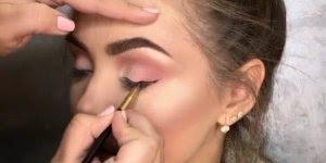 Inspirações de maquiagem para festa em dois tons diferentes, confira!!!