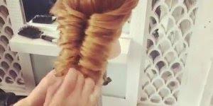 Lindo penteado para noivas, simplesmente perfeito, confira!!!