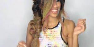 Penteado para cabelos grandes para você mesma fazer, confira!!!