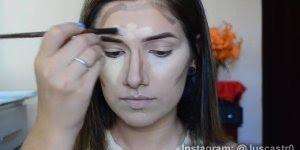 Preparação da pele para fotos, a dica é usar e abusar dos contornos!