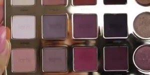 Sombra rosa com brilho, um show de maquiagem para você curtir!